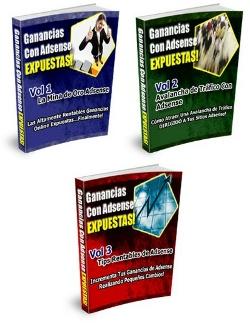 eBook Ganancias Con AdSense Vol.1-2-3