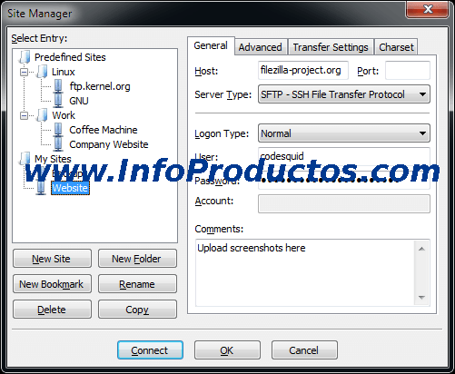FilezillaFTP-win-sitemanager-www.infoproductos.com