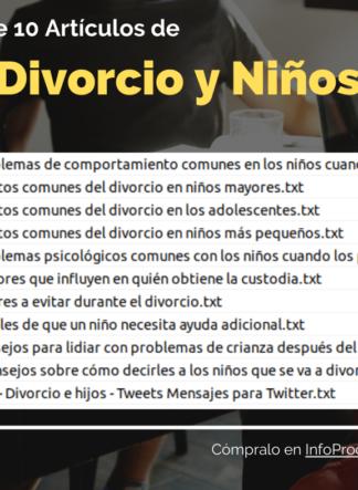 Pack10Articulos-DivorsioYNinios-InfoProductos.com