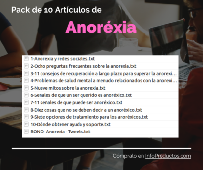 Pack-10Articulos-Anorexia-Salud-InfoProductos.com