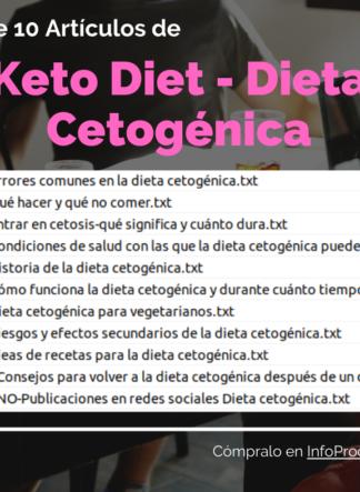 Pack-10Articulos--KetoDiet-DietaCetogenica-InfoProductos.com