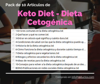Pack-10Articulos--KetoDiet-DietaCetogenica-InfoProductos.com