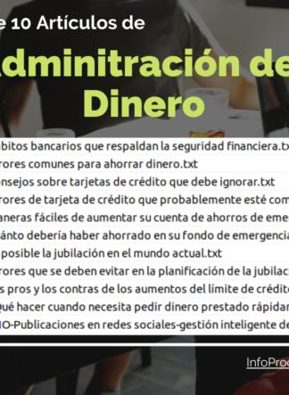 Pack10Articulos-AdministracionDelDinero-verdecito-InfoProductos.com