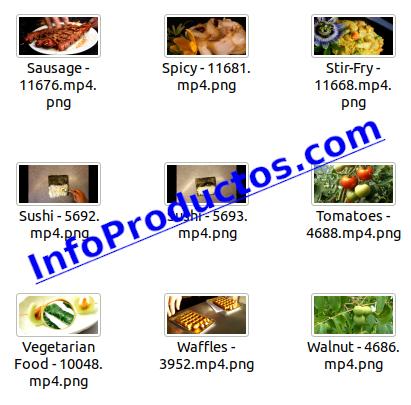 Food4kVideoFootage-pt3-videos-InfoProductos.com