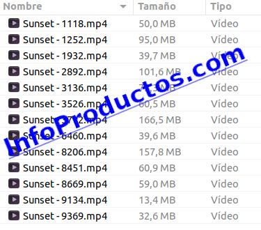 Sun4KVideoFootage-part1-detalles-InfoProductos.com