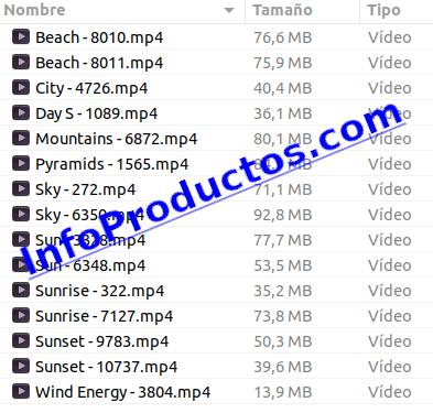 Sun4KVideoFootage-part2-detalles-InfoProductos.com